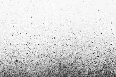 hardcore: An abstract paint splatter frame in black and white Stock Photo