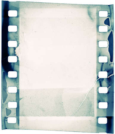 movie poster: designed grunge filmstrip, may use as a background Stock Photo
