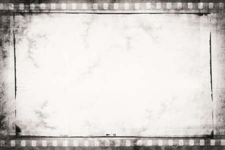 old film: designed empty film strip background