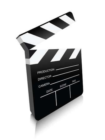 board of director: movie clapper board