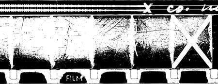 soundtrack: grunge 16mm film strip with soundtrack