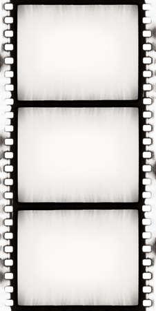 designed empty film strip with added grain photo