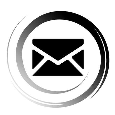 sobres para carta: icono de correo  Vectores