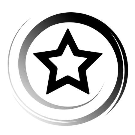 star logo: star icon Illustration