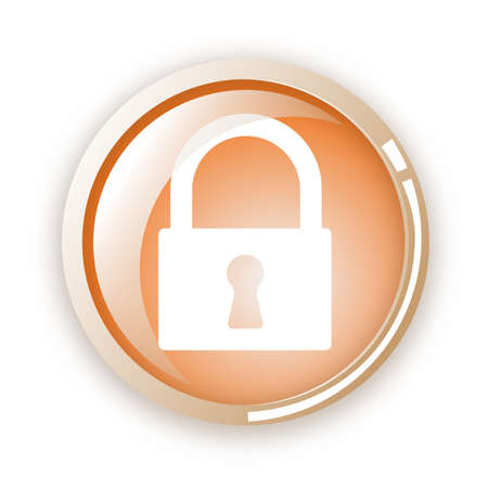 lock icon Stock Vector - 6796601