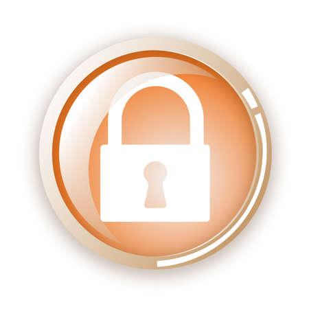 lock icon Stock Vector - 6796601
