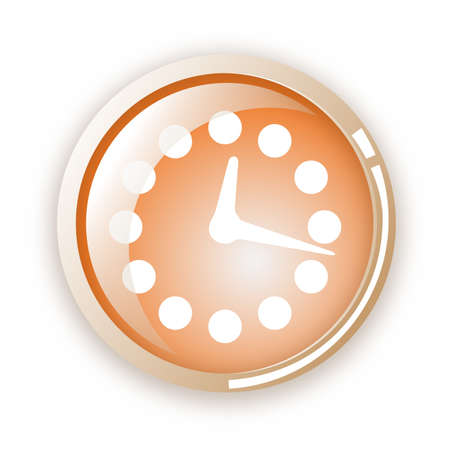 sec: time icon Illustration