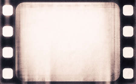 perforation texture: designed grunge filmstrip, may use as a background Stock Photo