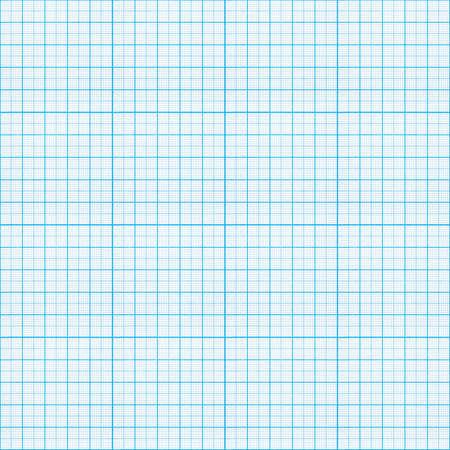 그리드: 원활한 파란색 그래프 용지 패턴 스톡 사진