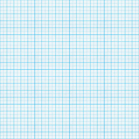 grid background: seamless blue graph paper pattern Stock Photo