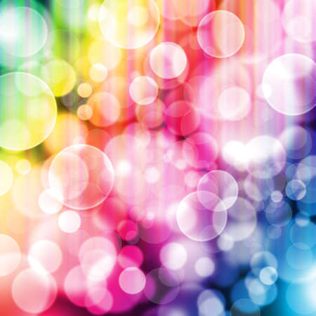 designed colorful bokeh background  Stock Photo