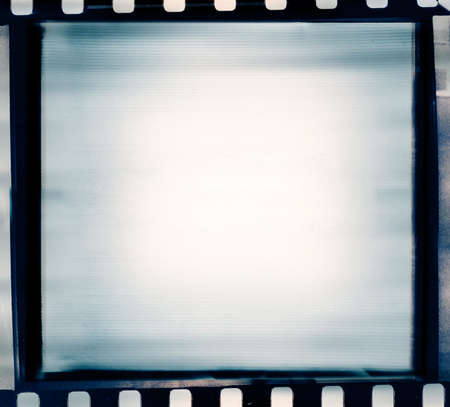 film negative: designed grunge film strip illustration