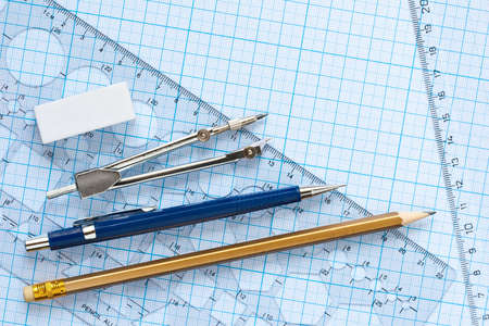 drawing tools background photo