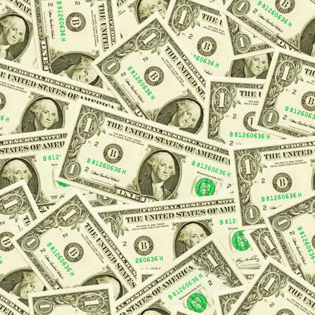 Seamless dollars background  photo