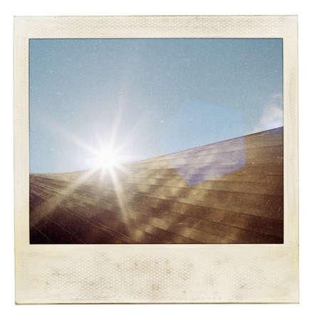 exposición: Vintage foto instant�nea