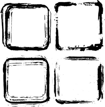 set di frame di inchiostro