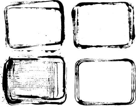 ink frames set Zdjęcie Seryjne - 8099606