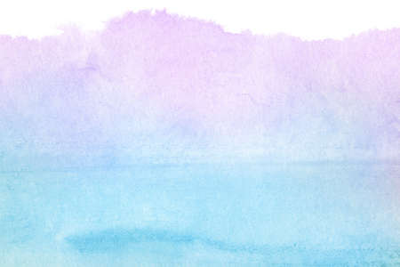 blue gradient: Abstract watercolor hand painted background Made myself.
