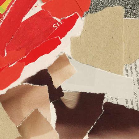 clippings: Fondo de collage, de revistas y recortes de papel. Hecho yo mismo.