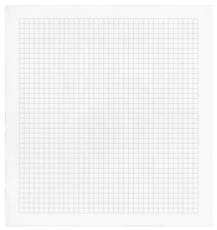 Patrón de papel de matemáticas en blanco detallada Foto de archivo