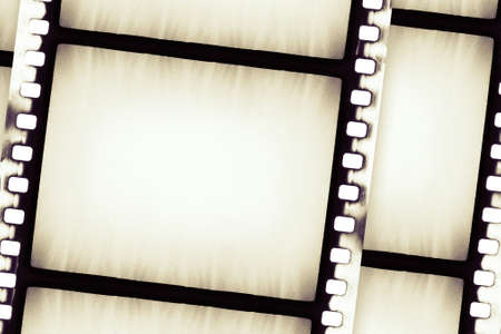 Designed empty film strip background Stock Photo