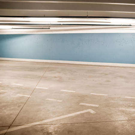Empty parking area, can be used as background Stock Photo - 8577860