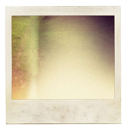 analog: abstract instant photo background
