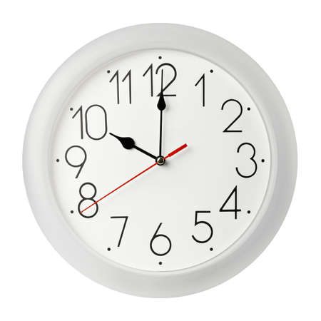 Classic wall clock , isolated on white Stock Photo - 9024017