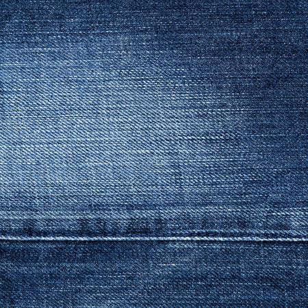 Worn blue denim jeans texture, background Stock Photo - 9152327