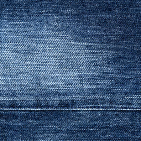 denim: Worn blue denim jeans texture, background Stock Photo