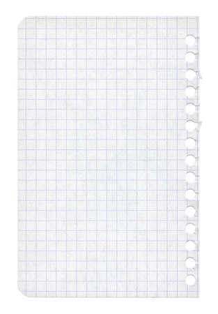 feuille froiss�e: classeur torn page papier texture