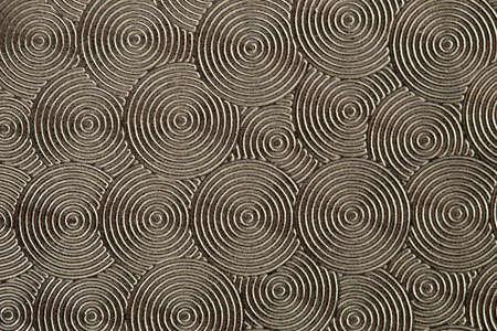 silver texture: Metallic retro texture with circle shape elements Stock Photo