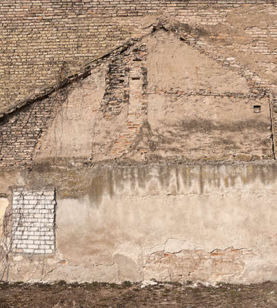 Aged wall background, texture photo