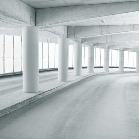 Empty parking area, can be used as background Stock Photo - 9357349