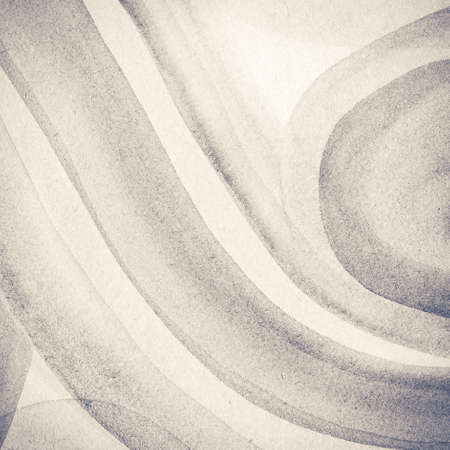 hand brushed: Abstract toned watercolor background. Made myself. Stock Photo