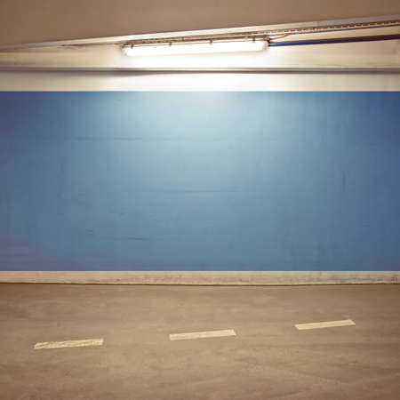Empty parking lot area, can be used as urban background Stock Photo - 9505430