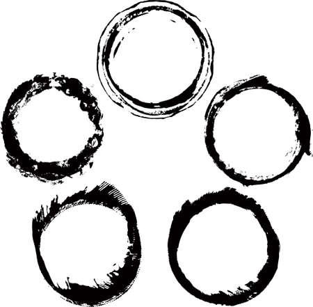 ink frames set Vector