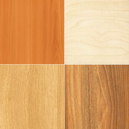 Set of wood textures for your backgrounds Stock Photo
