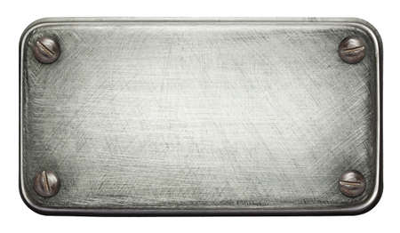 siderurgia: Textura de chapa con tornillos. Foto de archivo