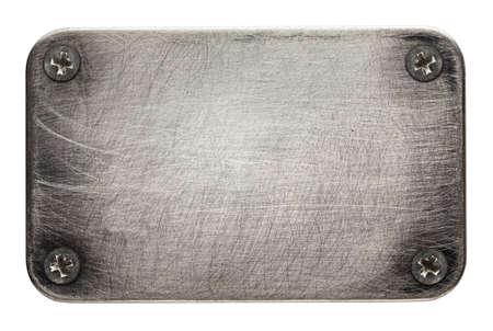 herramientas de construccion: Textura de chapa con tornillos. Foto de archivo