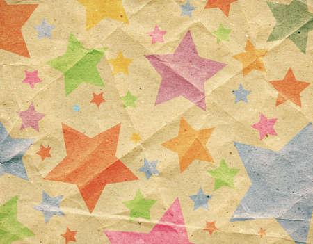 creasy: Designed retro paper background, texture