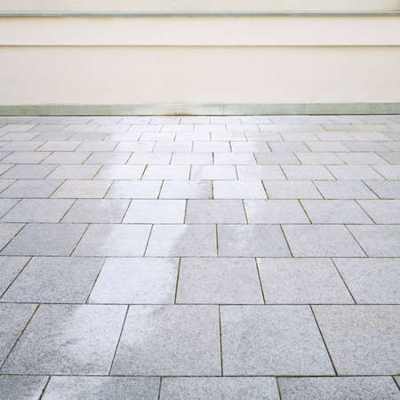 Building exter detail. Empty wall and floor can be used as background. Stock Photo - 10442281