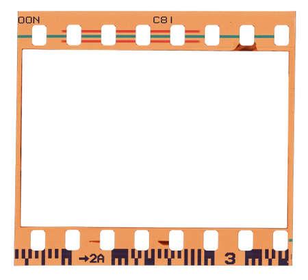 Blank color film strip frame Stock Photo - 10498702