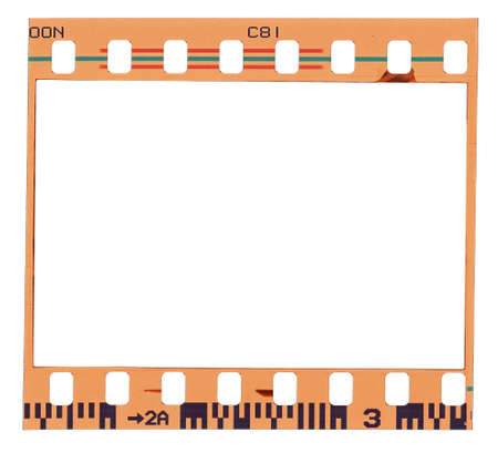 Blank Color Film Strip Frame Stock Photo, Picture And Royalty Free ...