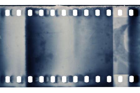 film strip: Blank grained film strip texture