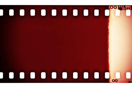 movie poster: Blank grained film strip texture