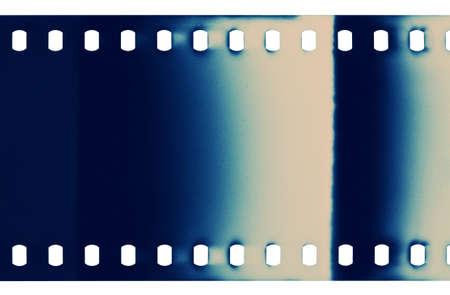 空白の粒状フィルム ストリップ テクスチャ