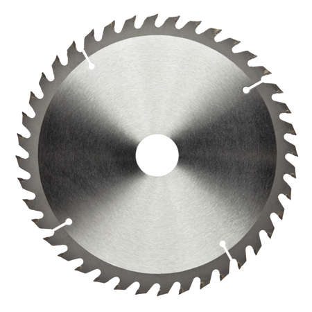 Circular saw blade for wood work photo