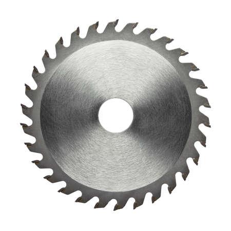Cirkelzaagblad voor hout werk Stockfoto