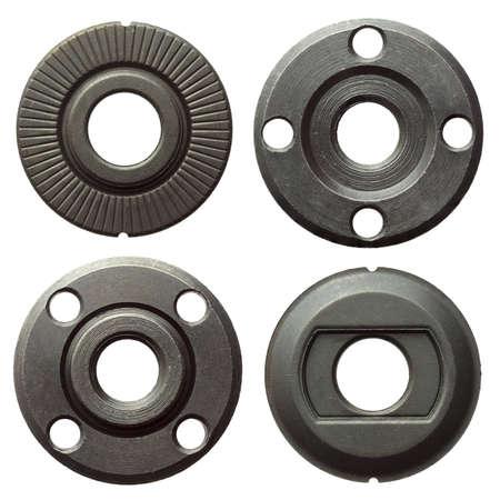 pulley: Round shape metal details set